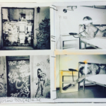 motel stories intimate polaroid multiframe hand worked in Lisboa