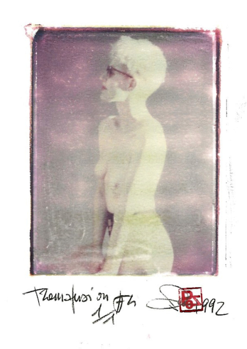 Arte Polaroid i migliori fotografi italiani tecniche polaroid di trasferimento di immagine transfer polaroid lift su carta
