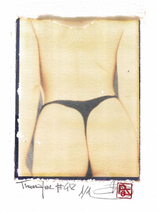 Arte Polaroid i migliori fotografi italiani transfer polaroid film on paper